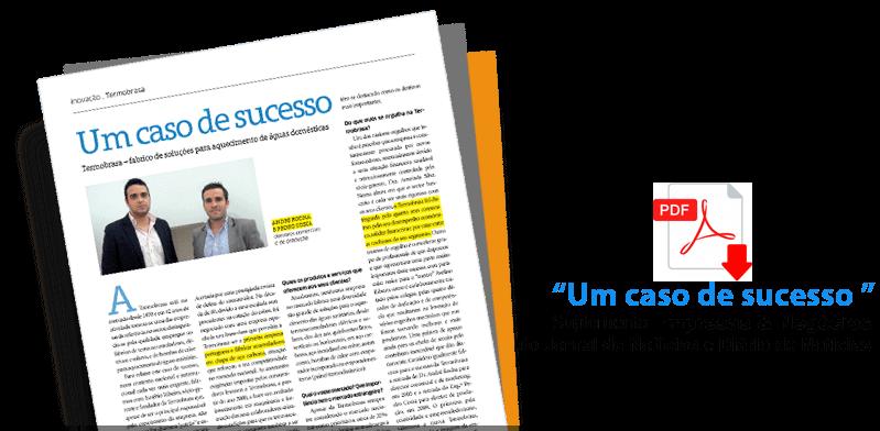 """Artigo """"Um caso de sucesso"""" - Suplemento Empresas & Negócios do Jornal de Notícias e Diário de Notícias"""