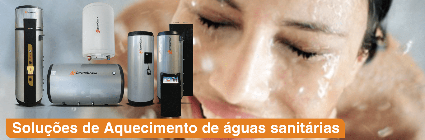 Solução de aquecimento de águas sanitárias